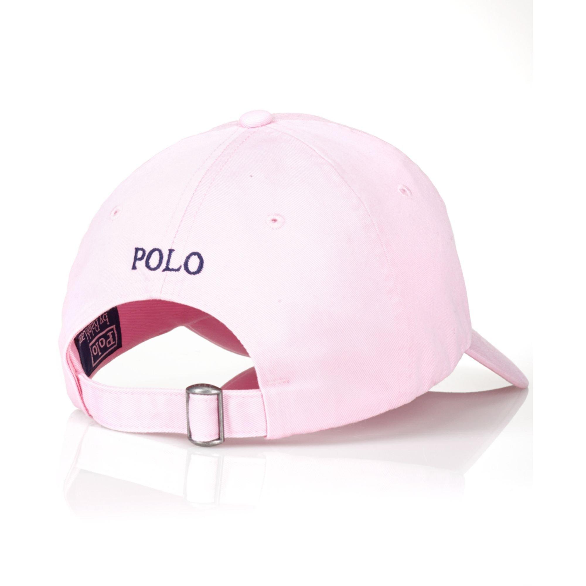 Marein – pink ralph lauren hat fda7f99000