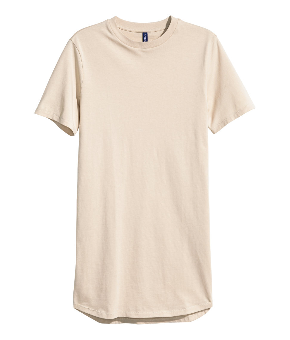 Mens Long Tail T Shirts