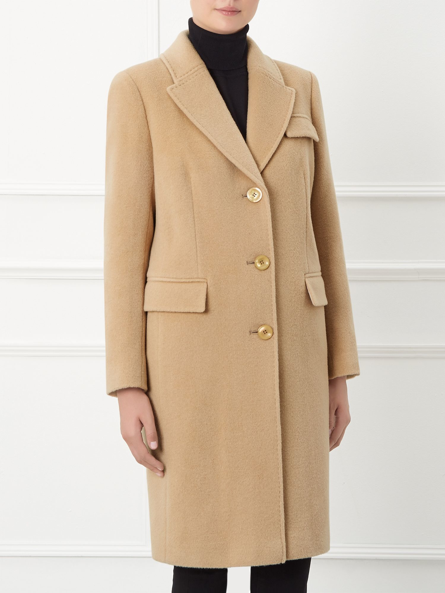 Windsmoor By Paul Costelloe Richmond Camel Coat In Natural