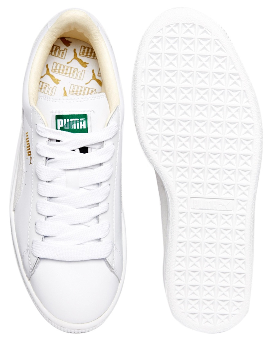 Puma Classic Leather Basket Sneaker bfh6C