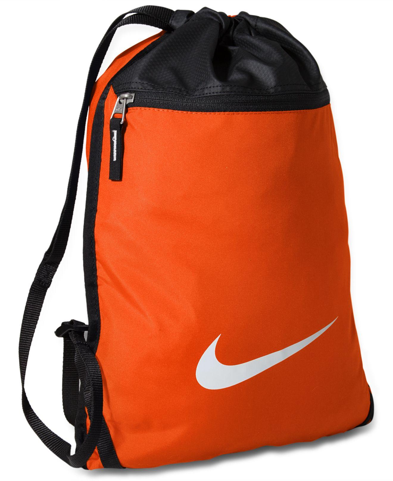 e5f389399d7 100% authentic 2b2af aa9c7 Lyst - Nike Team Training Gymsack Bag in Blue  for Men  online shop ...