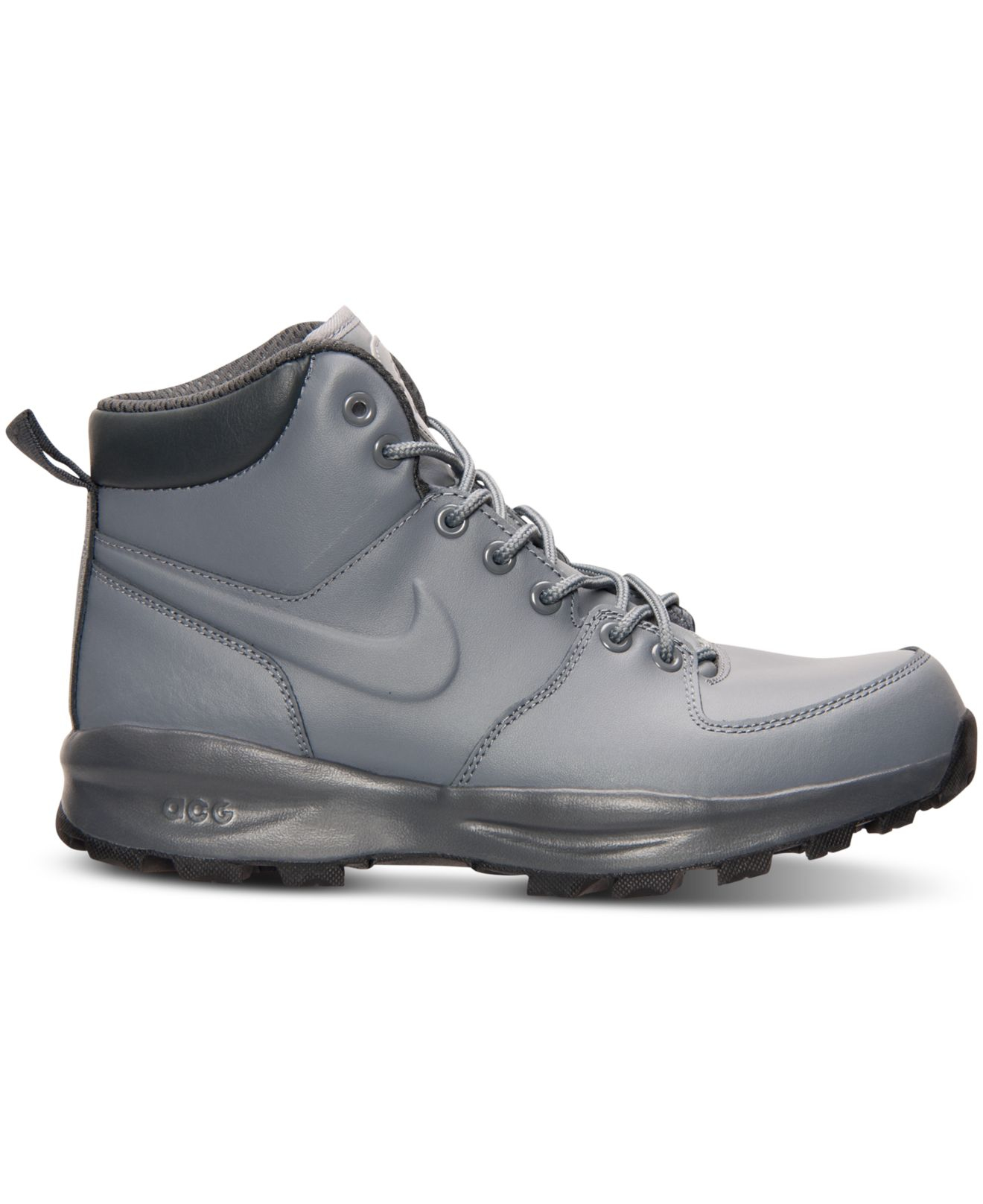 c20f3537ce0 Lyst - Nike Men s Manoa Leather Boots From Finish Line in Gray for Men