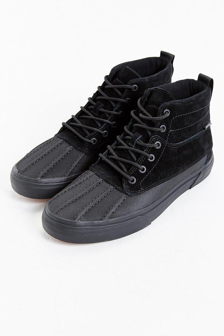 d4cb815ab47e Lyst - Vans Sk8 Hi Del Pato Mte Boot in Black for Men