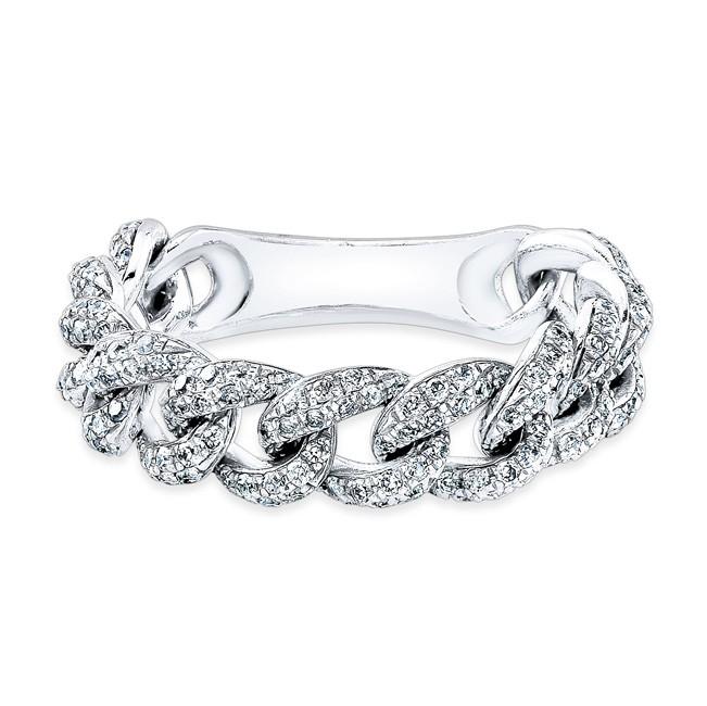 Women S Gold Diamond Pinky Ring