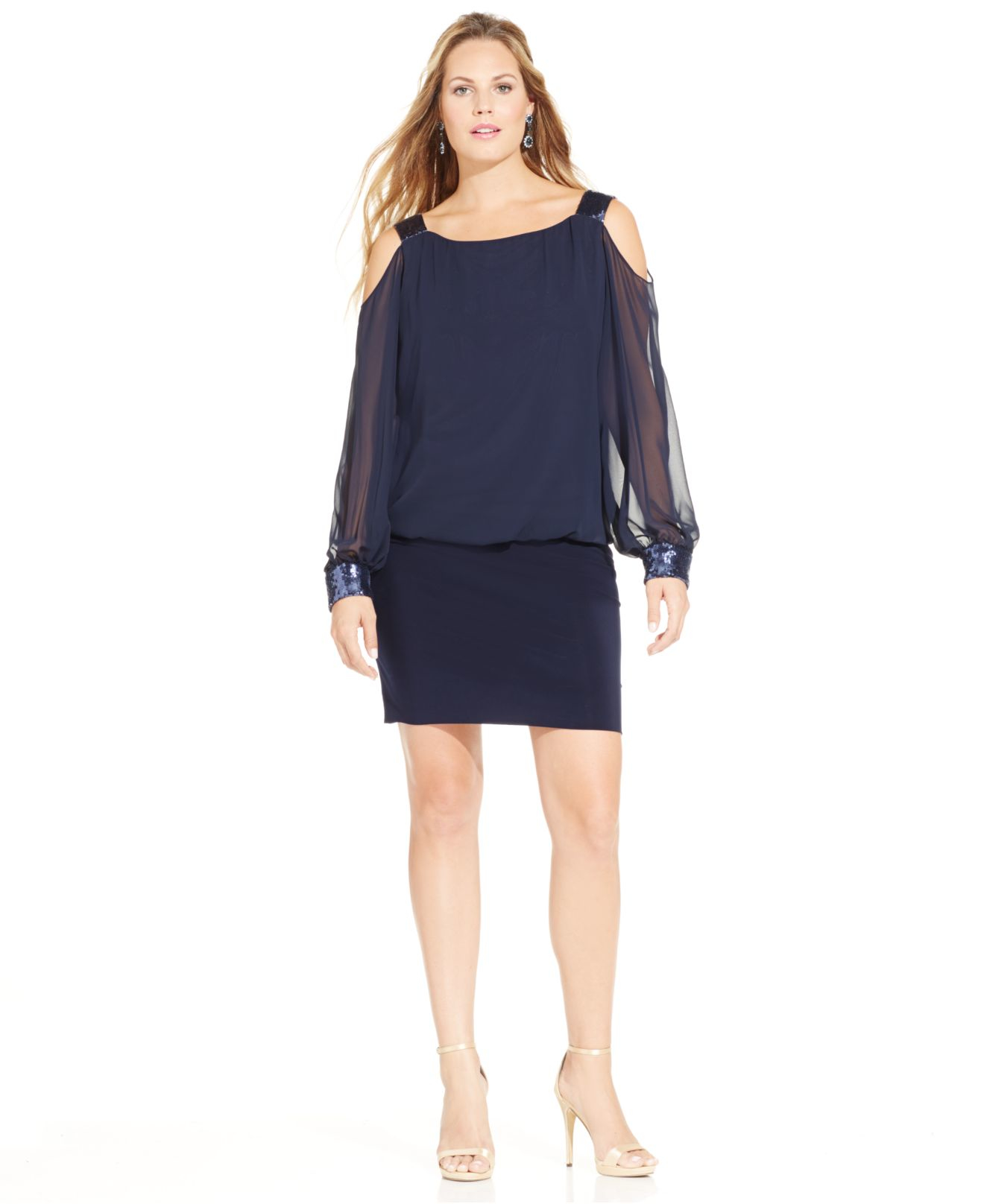 Blouson dress images