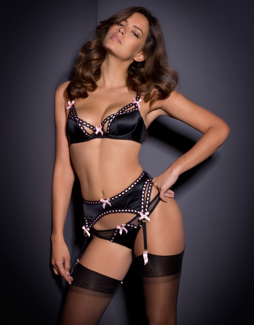 agent provocateur momoko bra in black lyst. Black Bedroom Furniture Sets. Home Design Ideas