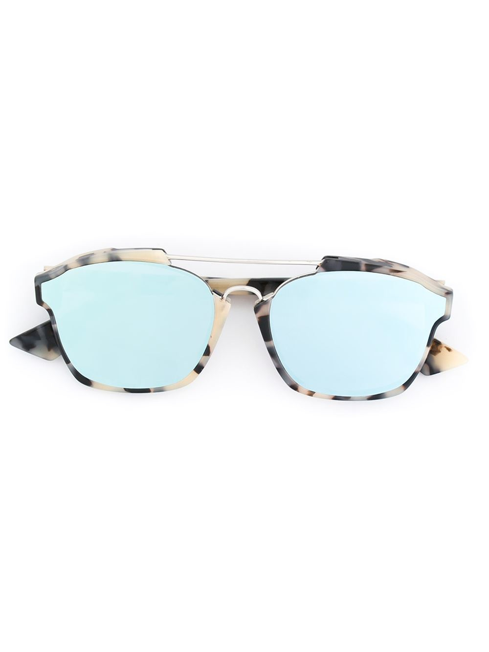 001ab6eb42 Dior  abstract  Sunglasses in Black - Lyst