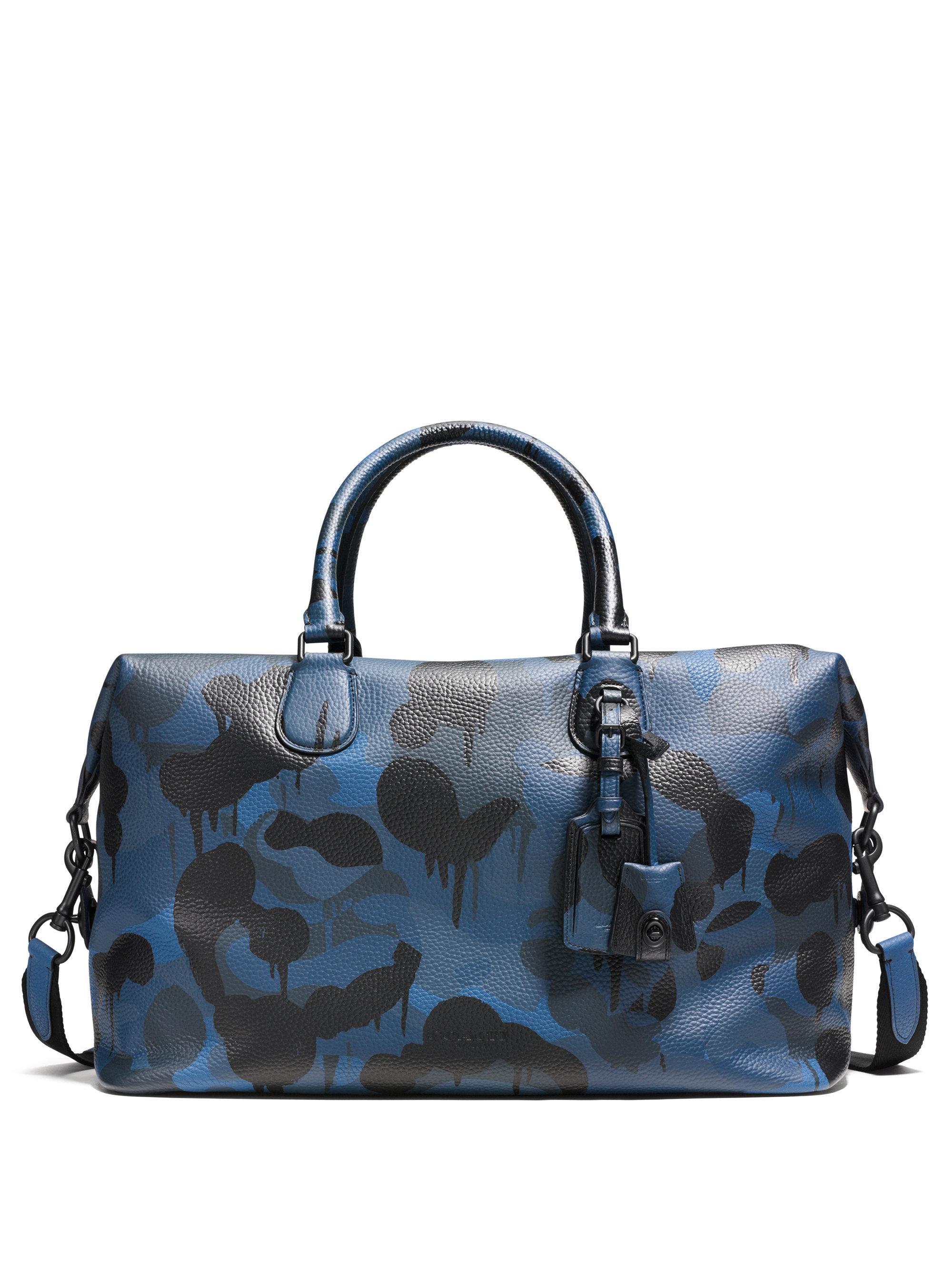 Men S Coach Travel Duffle Bag