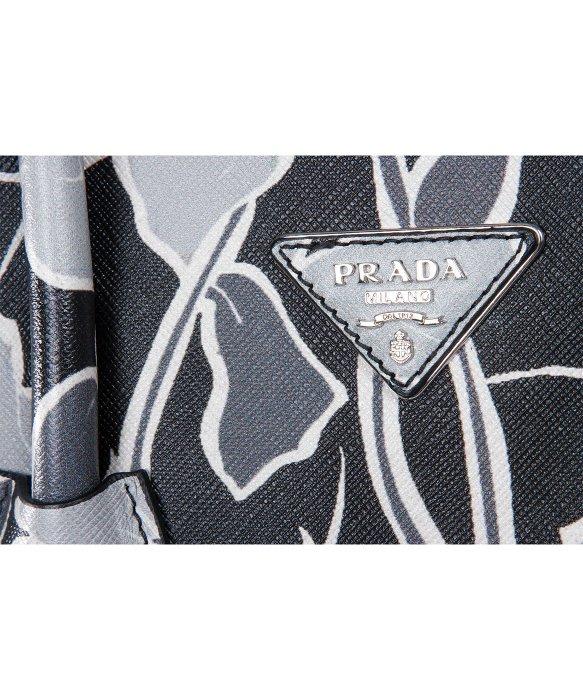Prada Bag Nero Dis-Ramage Saffiano Lux Handbag in Black | Lyst