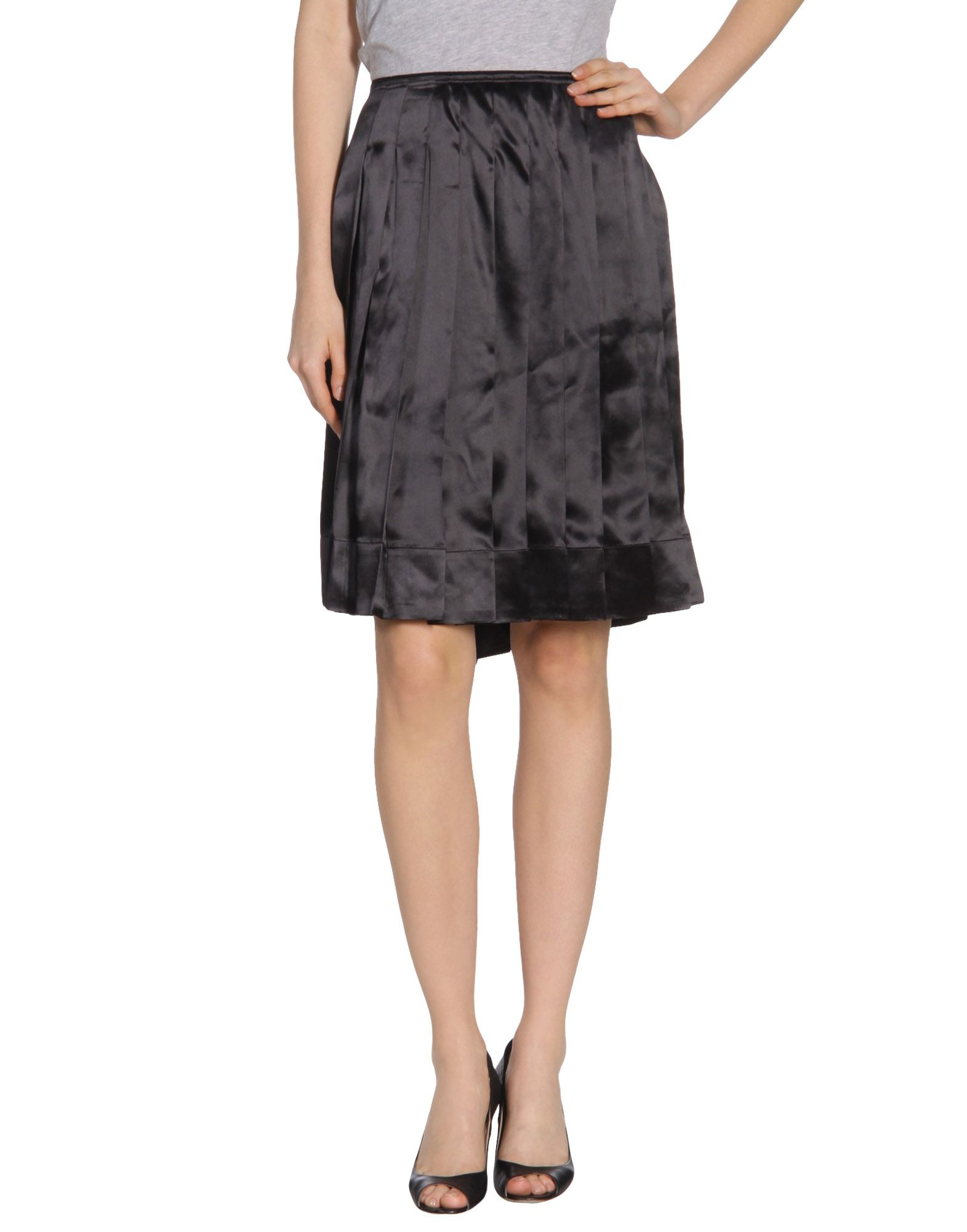 Luxury Marc Jacobs Womens Denim Midi Skirt  Clothriri