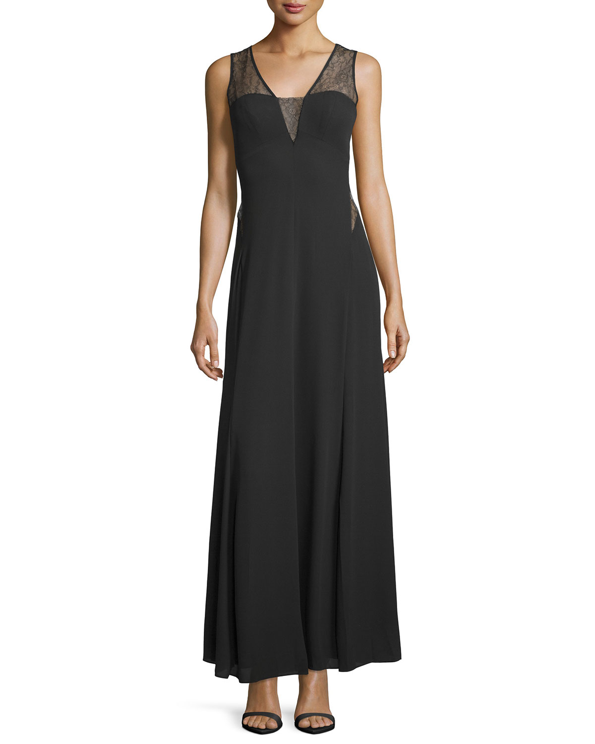 ee58afcd32c Bcbg Black Lace Maxi Dress – Little Black Dress