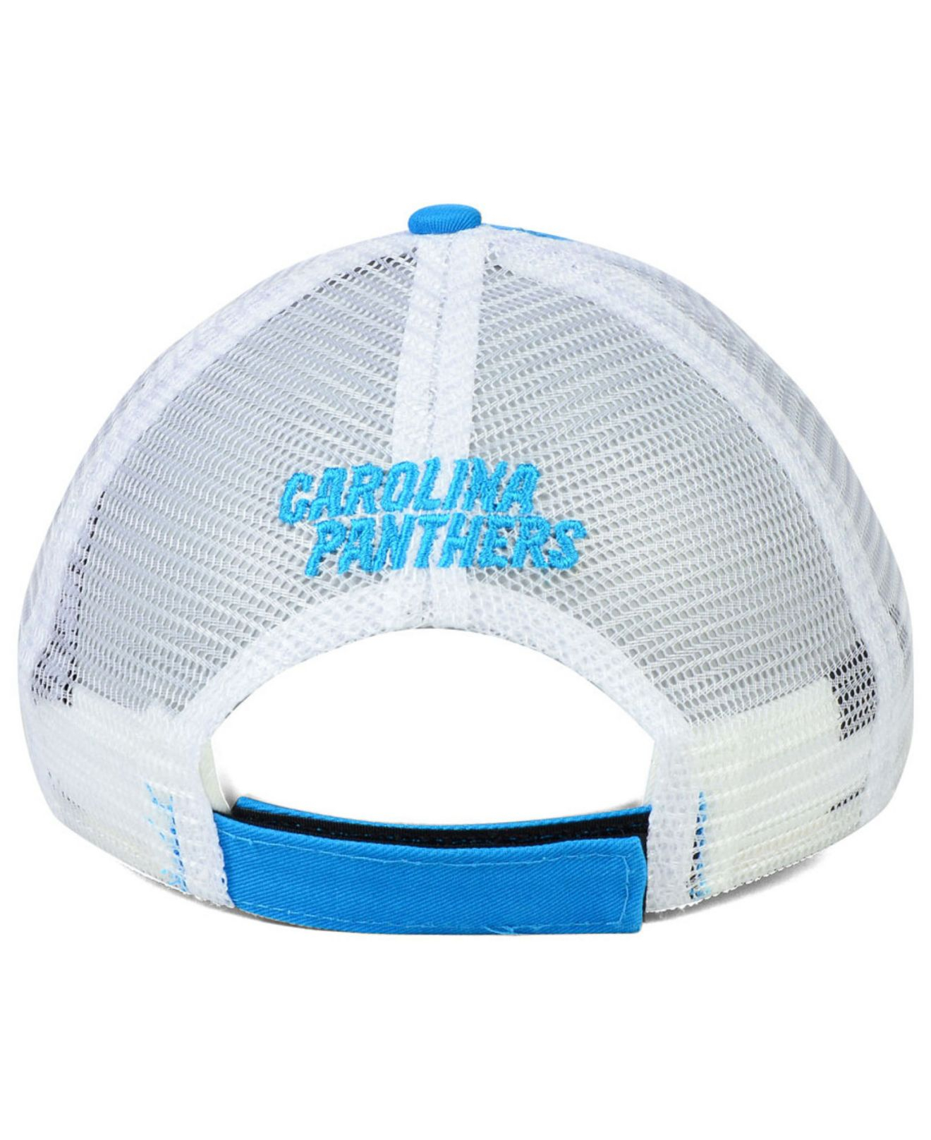 ... adjustable hat heathered gray 25.99 9163e 62bdb  wholesale lyst ktz womens  carolina panthers draft 9forty cap in blue 965e7 402ad d8c7c4d29e00