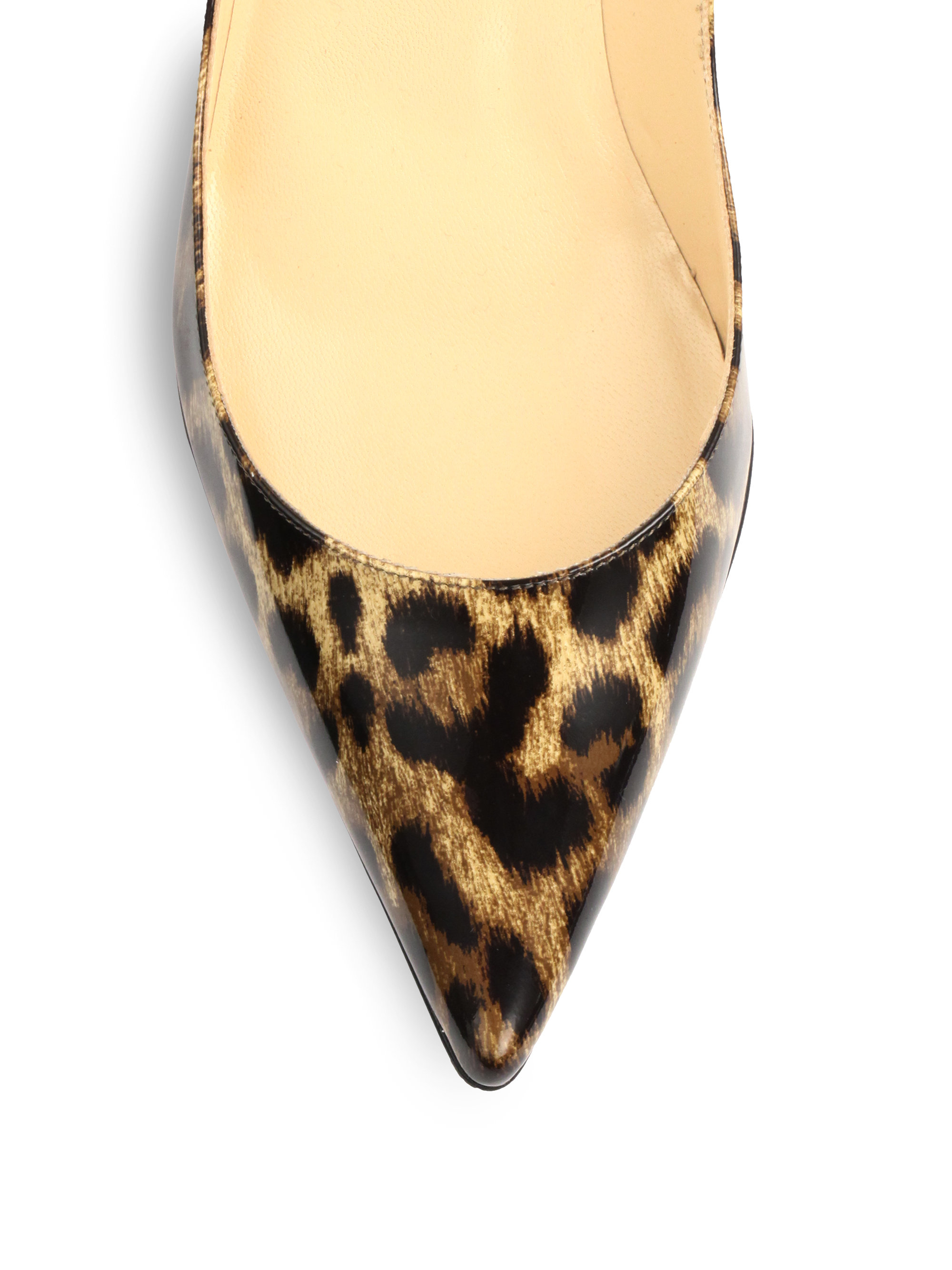 26a5c592cba christian louboutin so kate 120 leopard-print satin pumps, shoe replicas