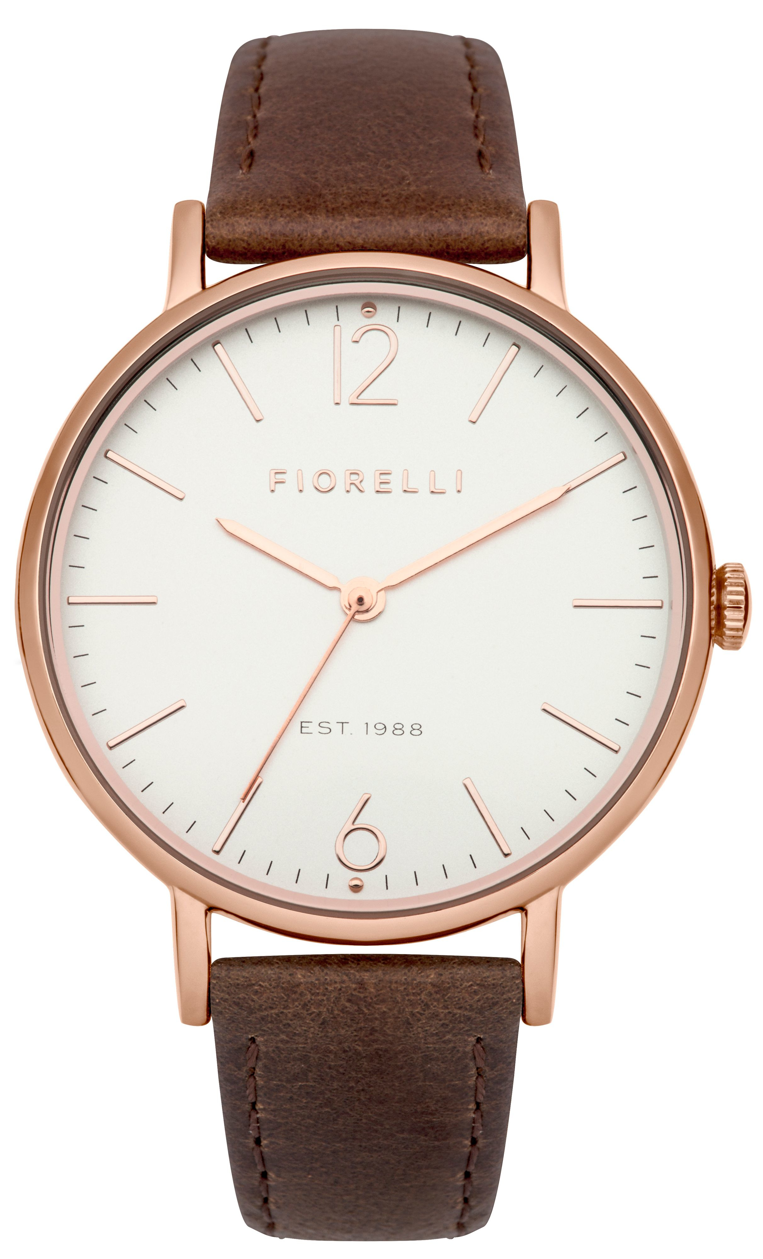fiorelli brown leather in metallic lyst
