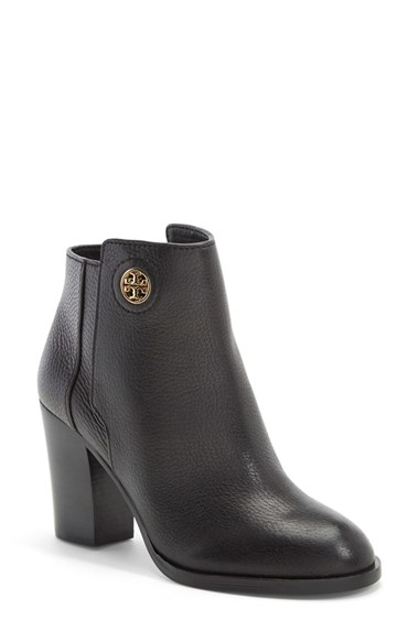 01bdecbc0f12 Lyst - Tory Burch  junction  Ankle Bootie in Black