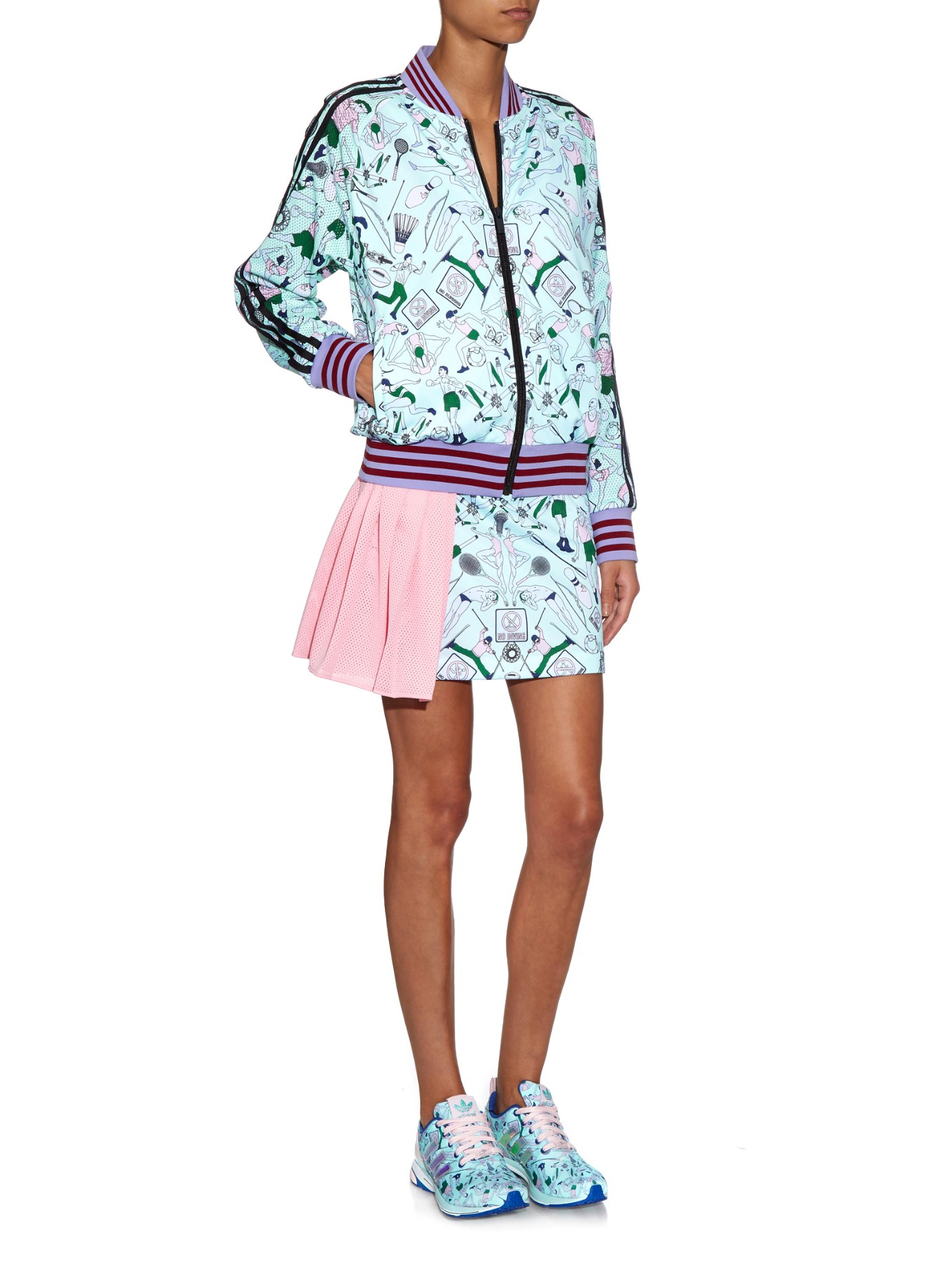 Hot Lowest Price Online Exc printed skirt Mary Katrantzou Cheap Outlet Store ZddUeQHnR