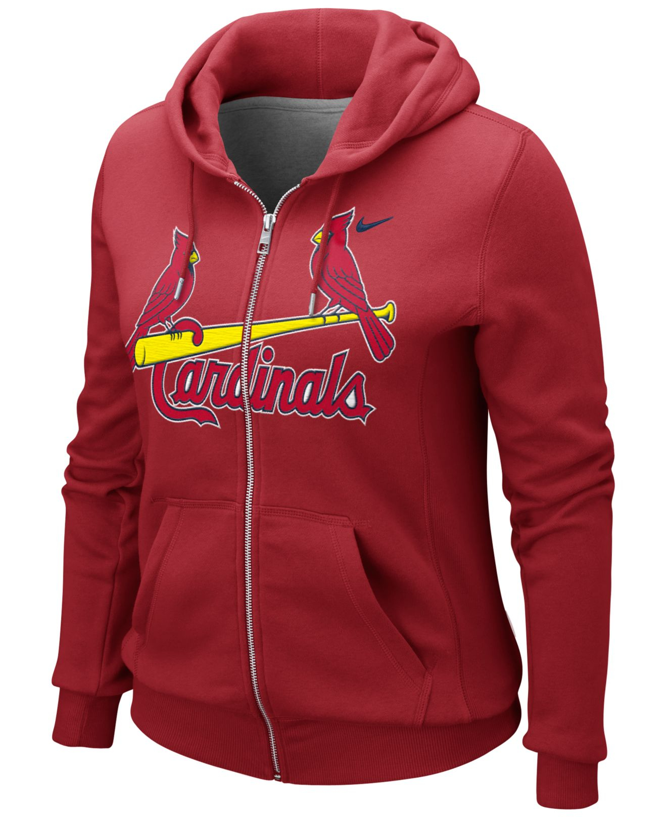 cf177ef0 St. Louis Cardinals Nike Women's All Time Performance 1.5 Pullover Hoodie -  Red