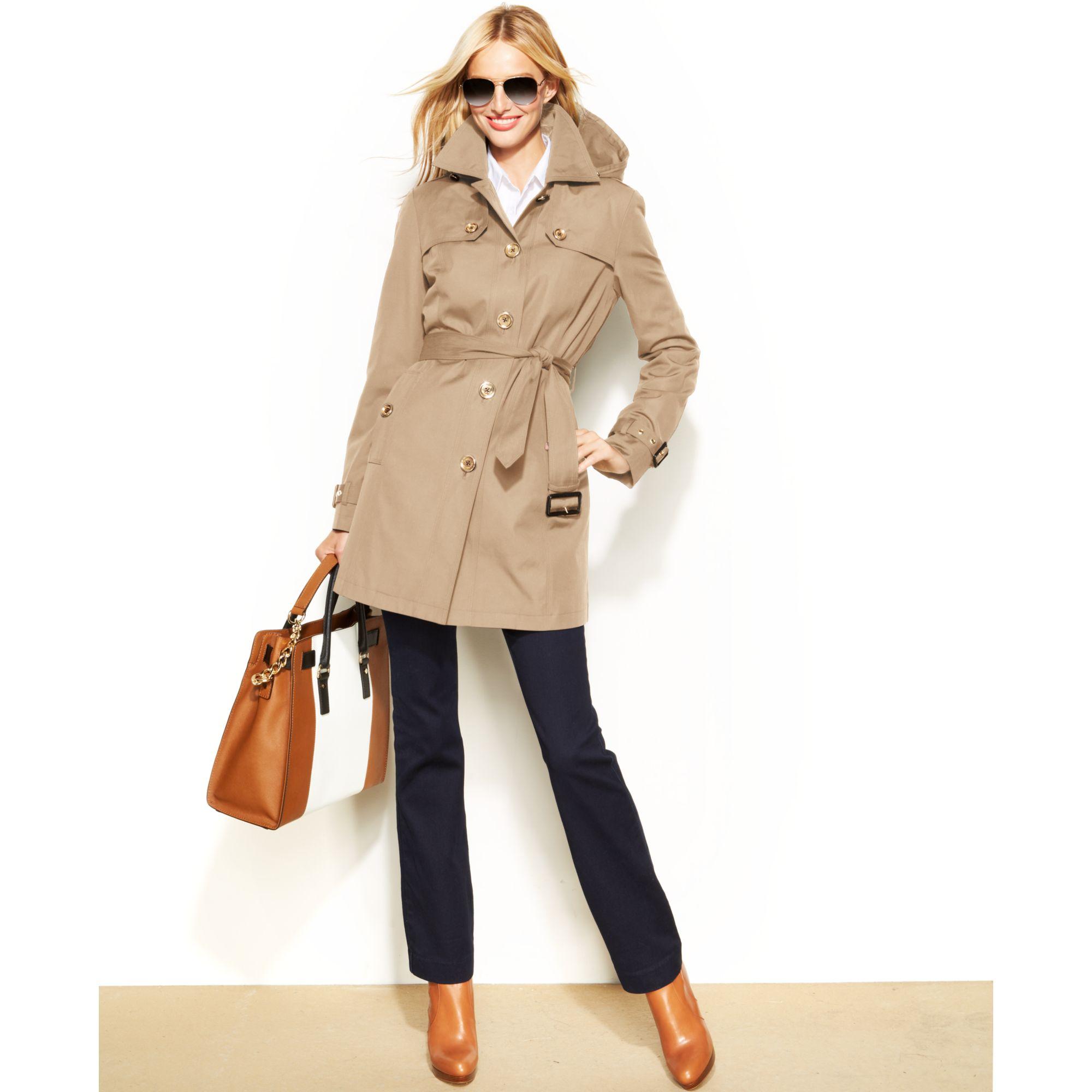 michael kor factory outlet 9n7n  michael kors trench coat
