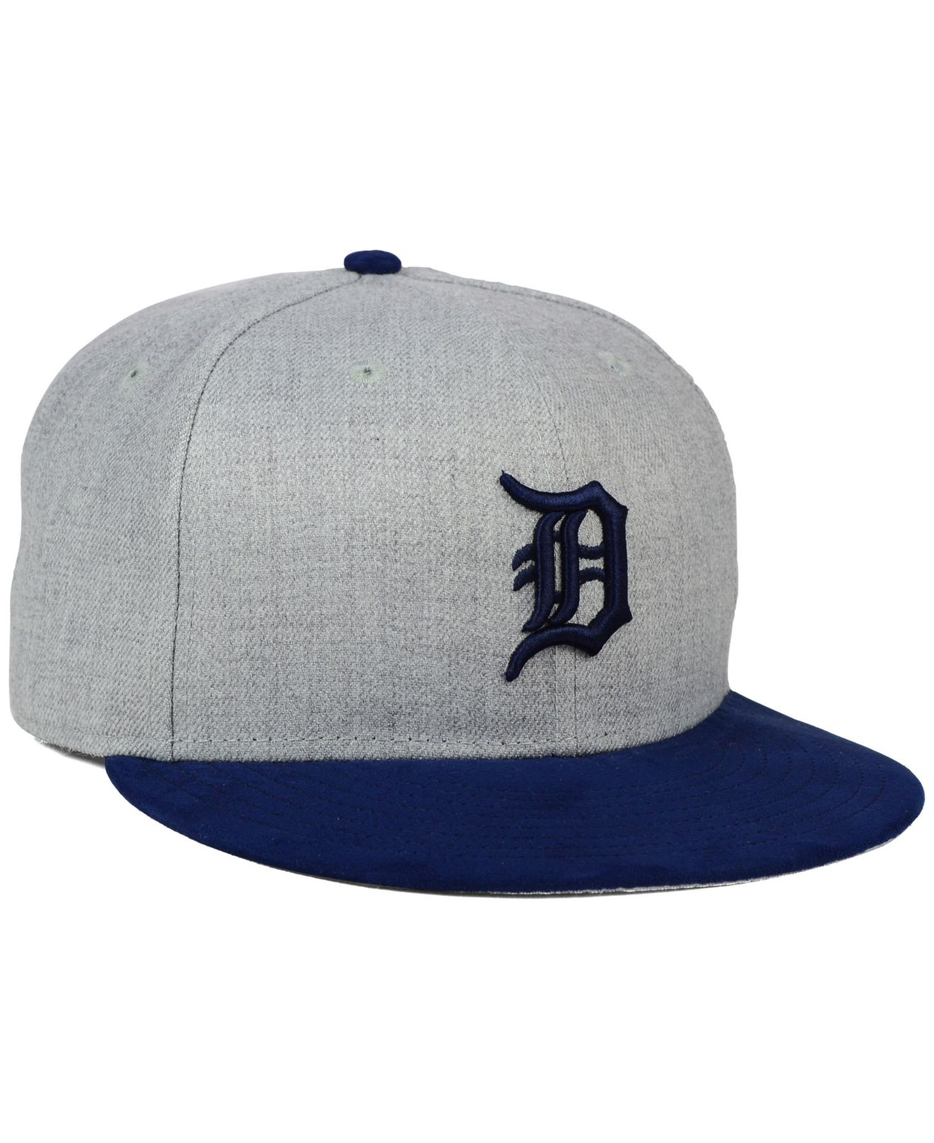 half off 88c2b 07019 ... official australia lyst ktz detroit tigers heather on faux suede 9fifty  snapback cap 57400 1e45f switzerland