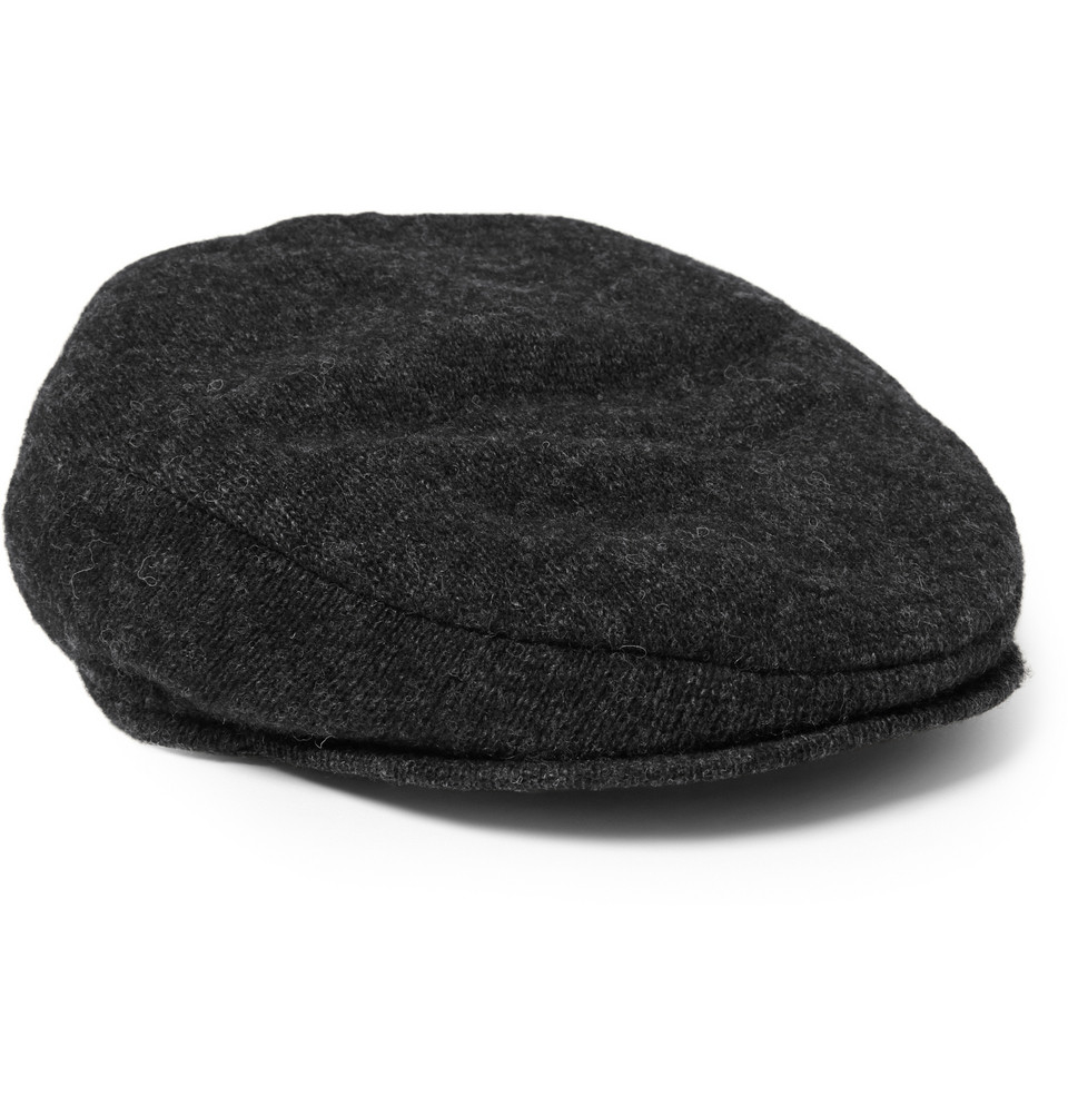 Lyst Polo Ralph Lauren Merino Wool Blend Flat Cap In