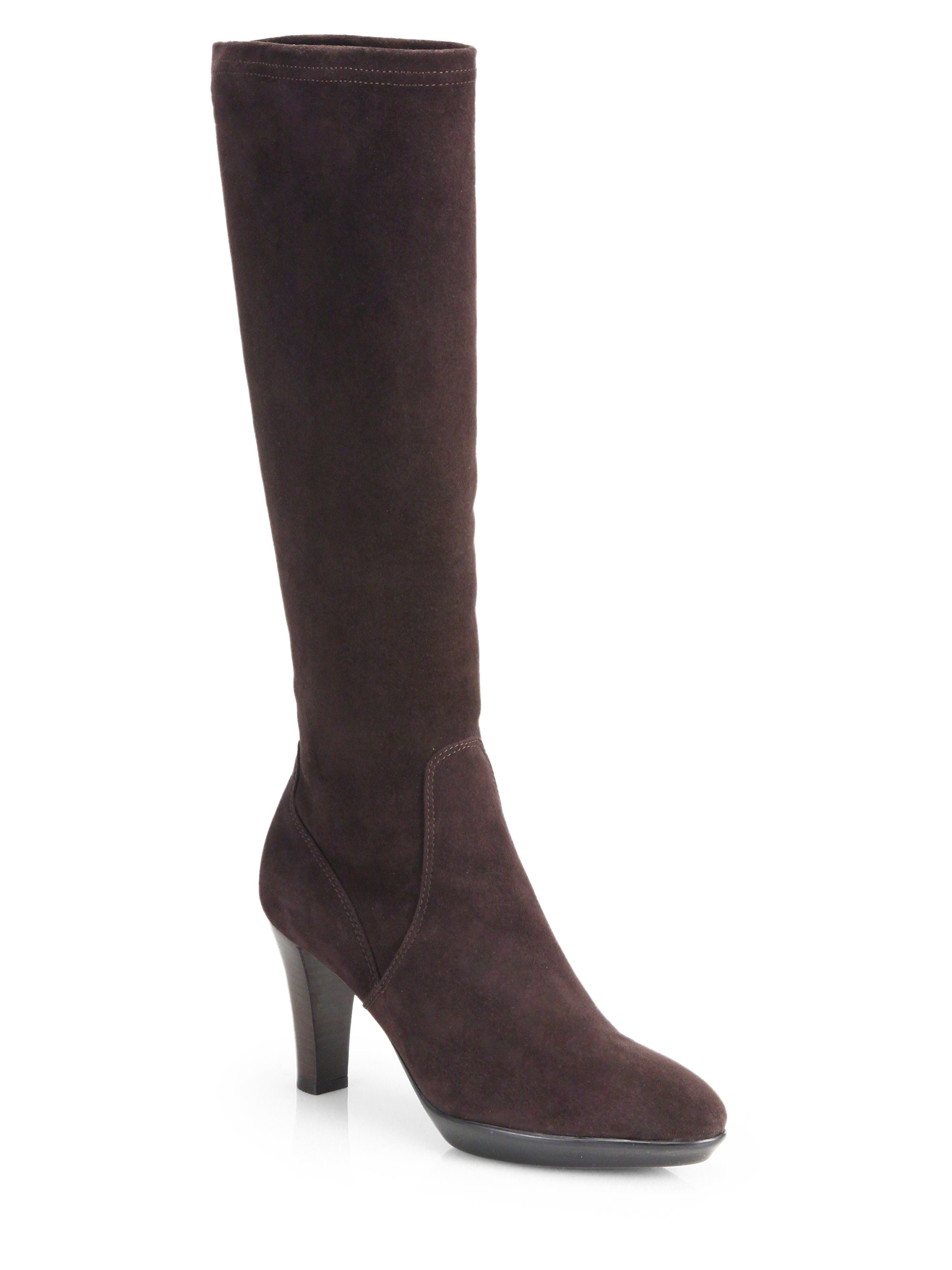 aquatalia by marvin k rhumba suede knee high platform