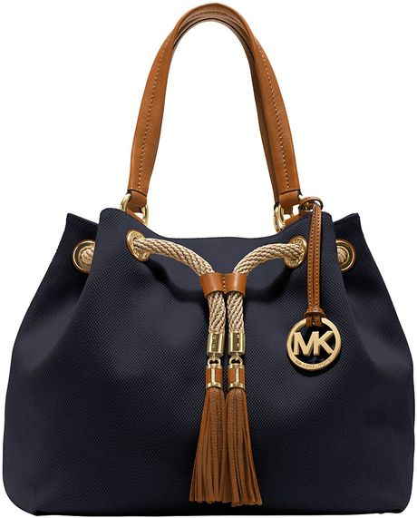 michael-michael-kors-blue-marina-canvas-large-gathered-tote-bag ...