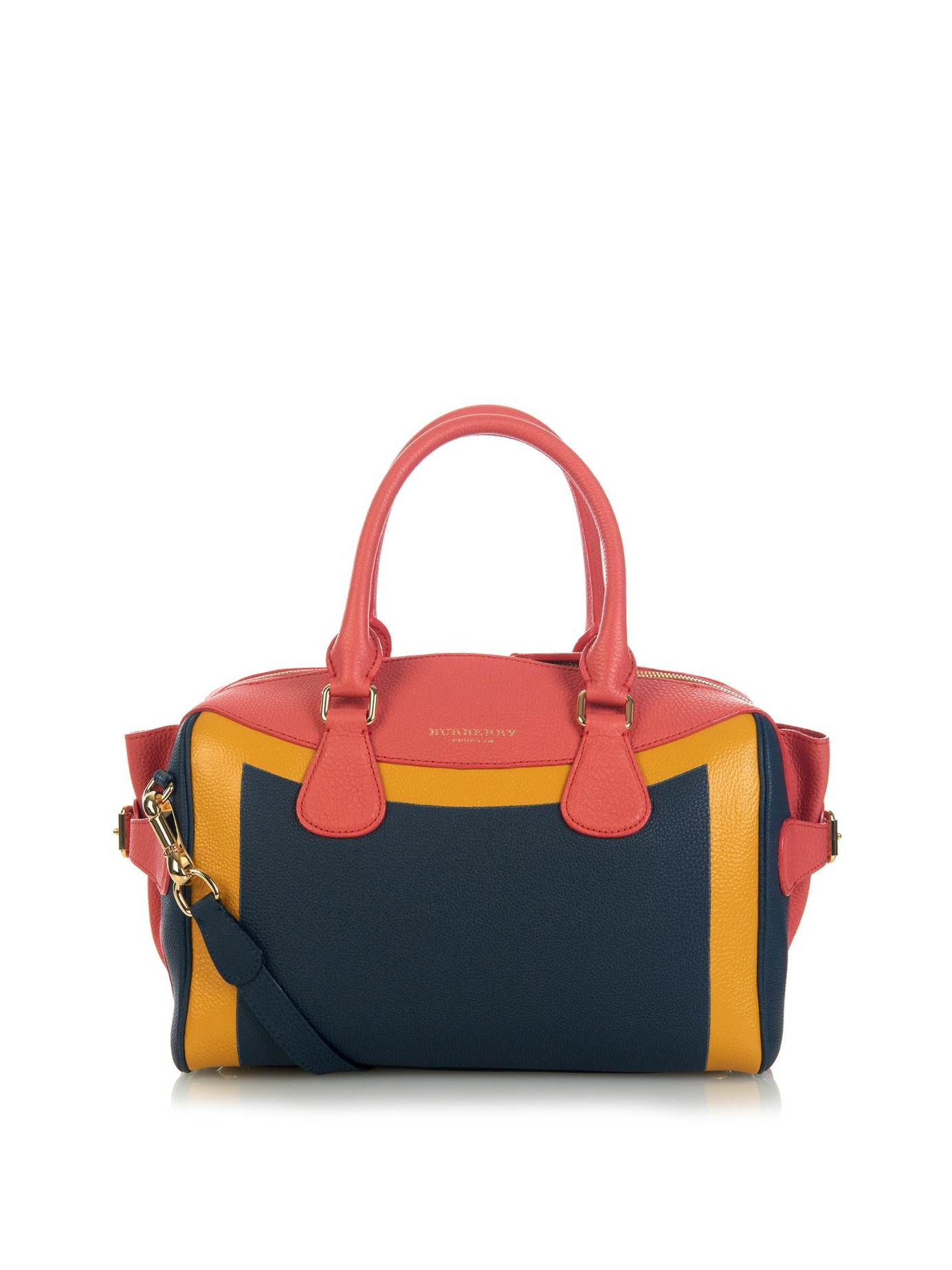 Lyst - Burberry Prorsum Bee Hand-painted Leather Tote in Blue aca4b69d0ec7b