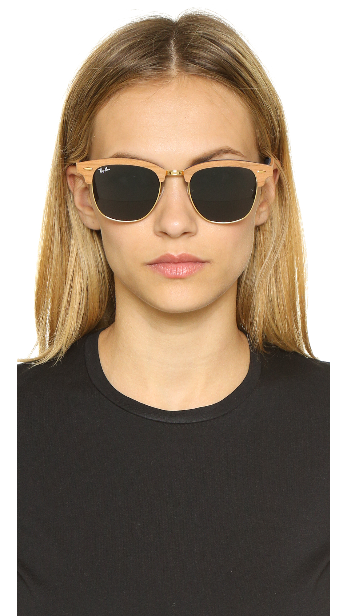 0400f28fba Gallery. Previously sold at  Shopbop · Women s Clubmaster Sunglasses  Women s Ray Ban ...