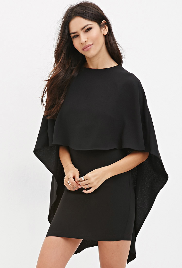 Forever 21 Layered Cape Dress You've Been Added To The ... - photo #33