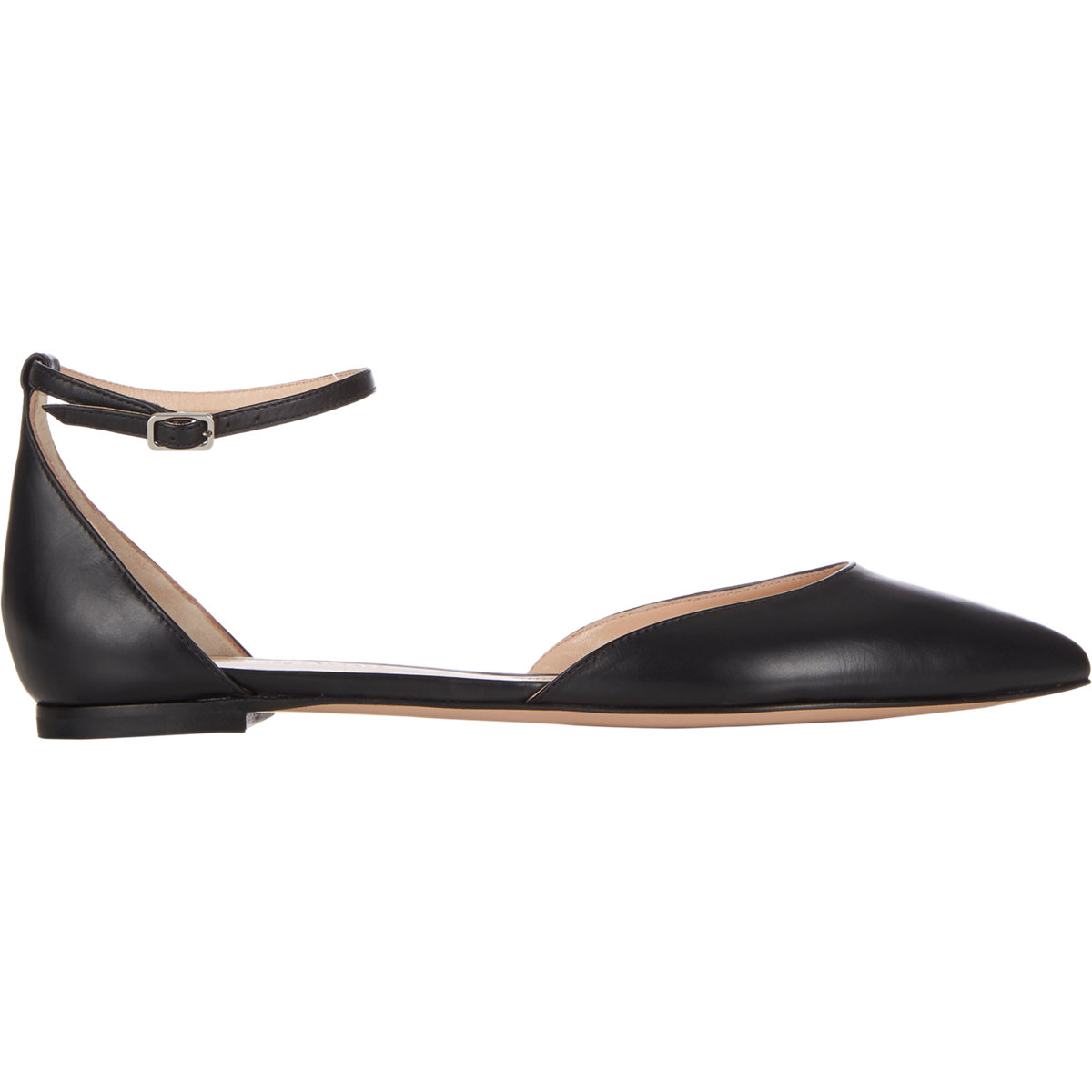 free shipping clearance store Gianvito Rossi Metallic d'Orsay Flats discount 2014 new free shipping very cheap cheap sale countdown package JRcoqg