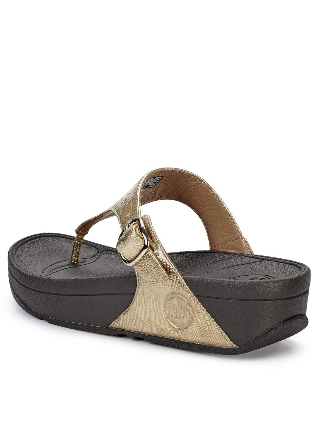 ecfdca65a10 Fitflop The Skinny Gold