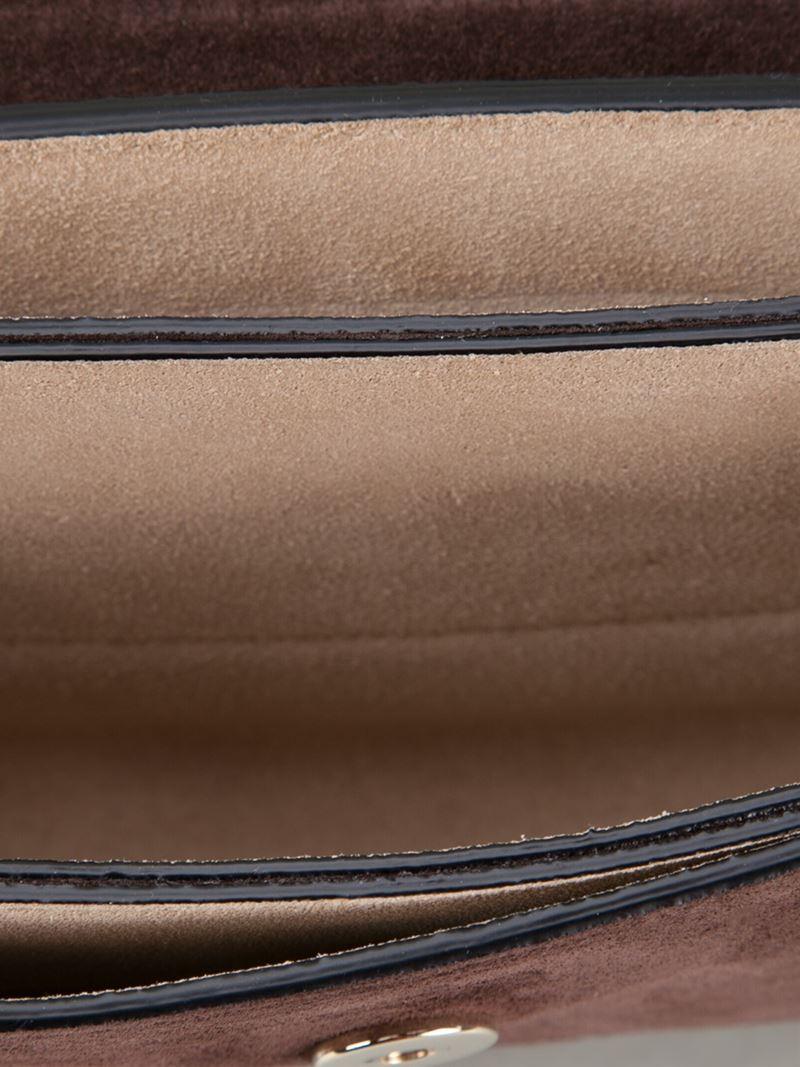 cloe handbag - chloe faye python leather satchel, chleo bag