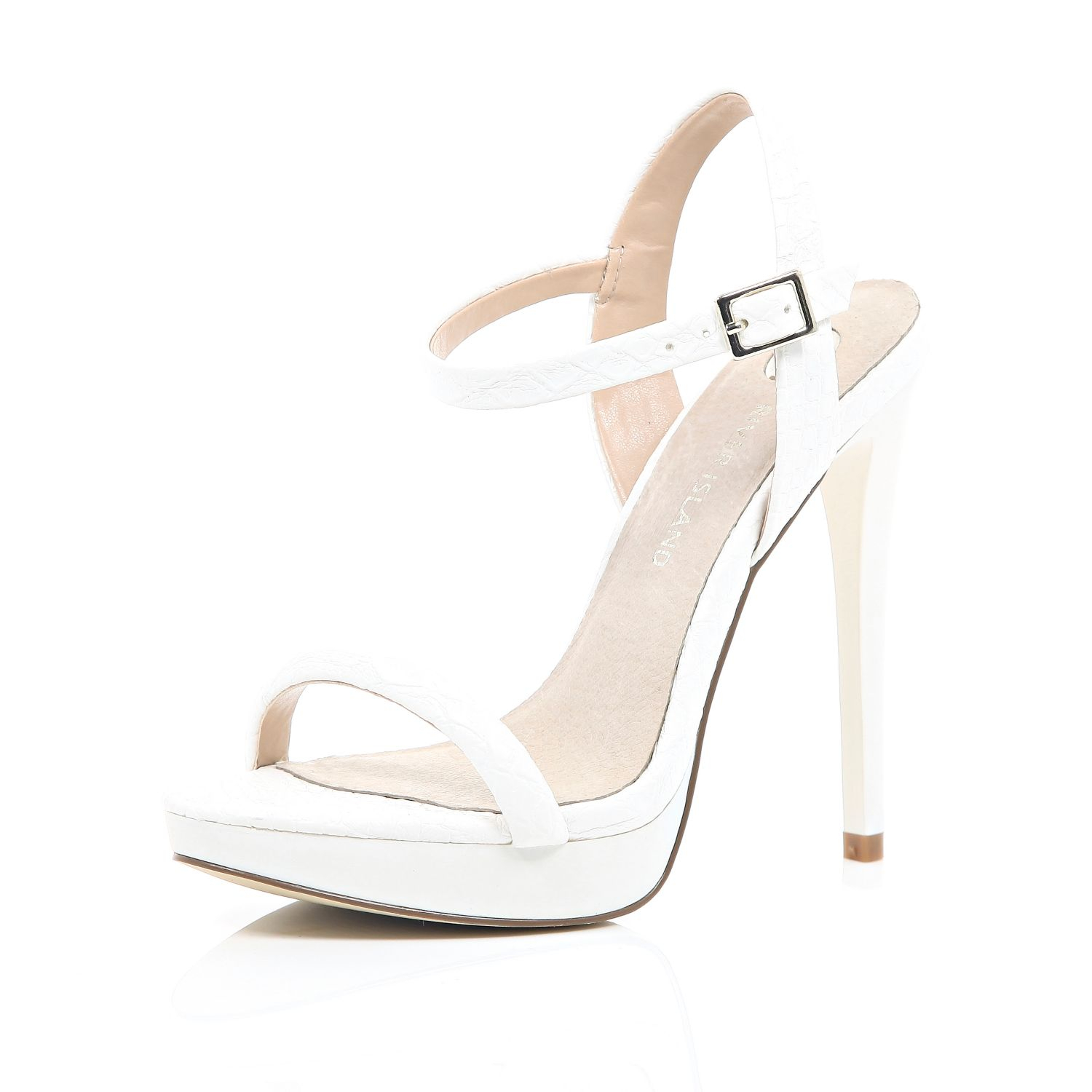 River Island Womens strappy barely there sandals
