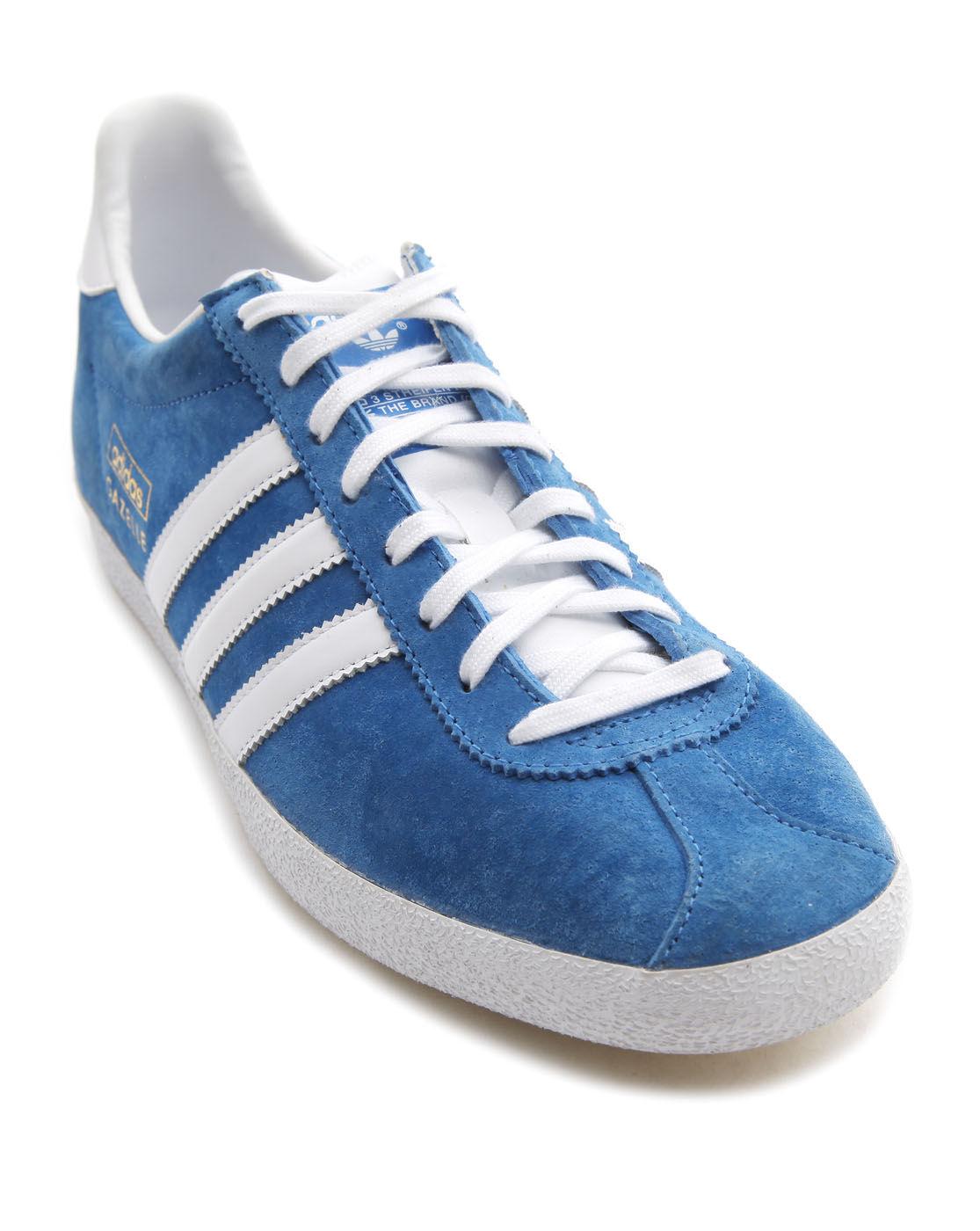 Adidas Originals Gazelle Og Blue Sneakers