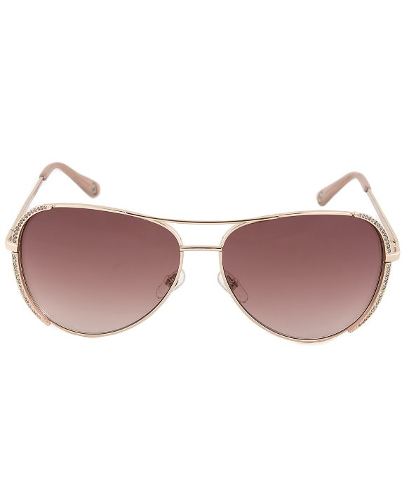 Michael Kors Rose Gold Sunglasses  michael kors m2062s 780 rose gold sa with swarrovski aviator