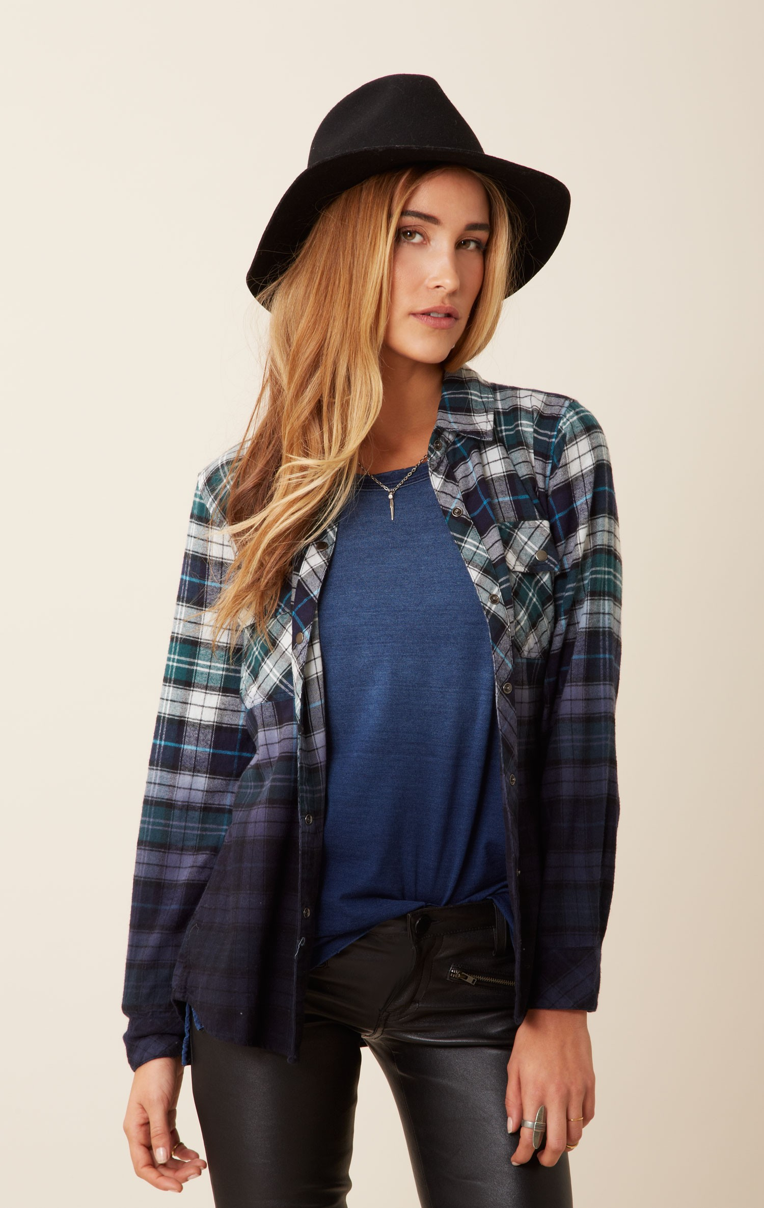 Checked Shirt Womens