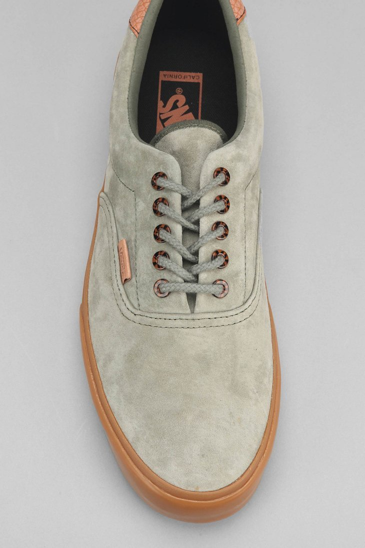 Lyst - Vans Era 59 California Suede Gum-Sole Men S Sneaker in Green ... d528ccf49