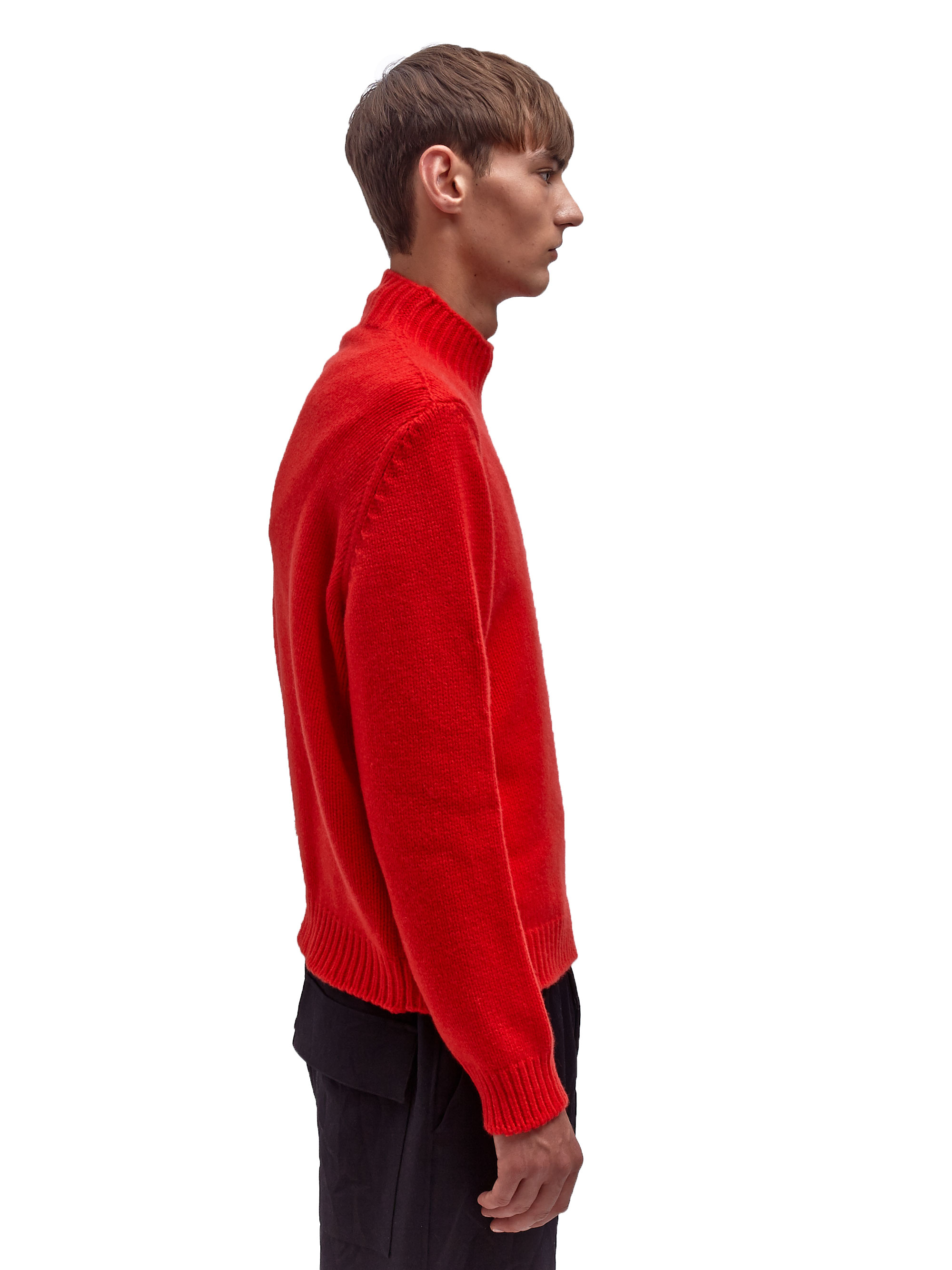 Marni Mens Light Wool Cashmere Long Sleeved Turtle Neck ...