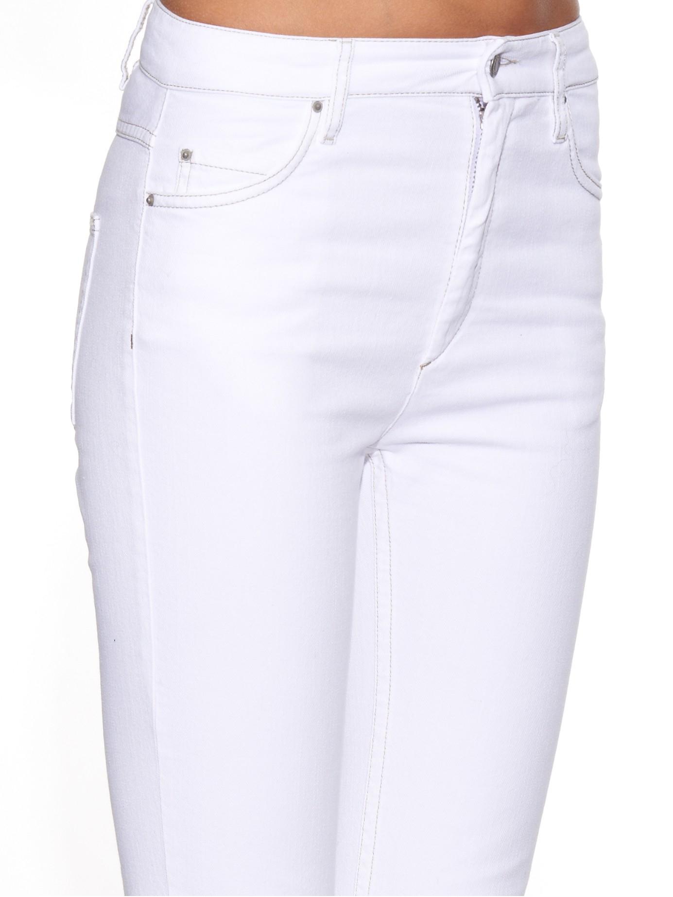 Étoile isabel marant Detta High-rise Skinny Jeans in White | Lyst