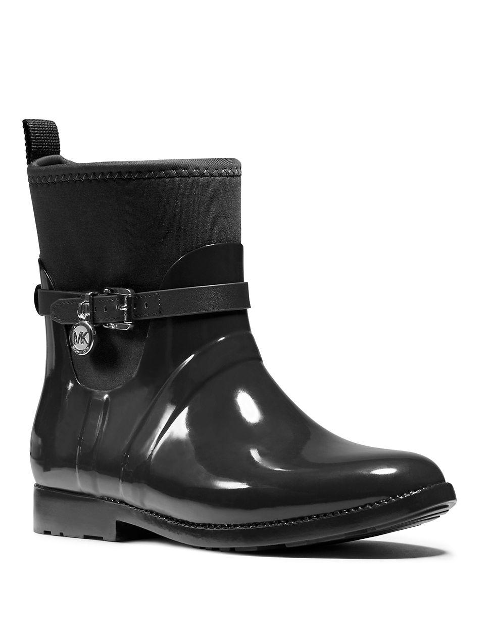 Michael michael kors Charm Stretch-rubber Rain Boots in ...