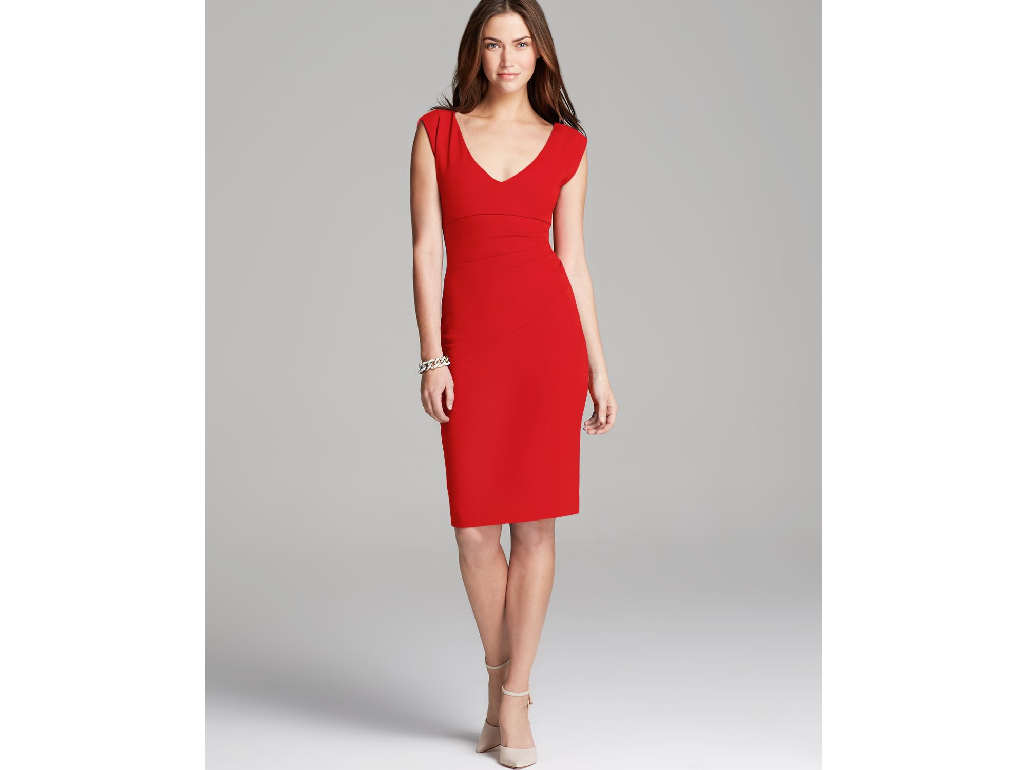 Diane von furstenberg Bevin Dress in Red | Lyst