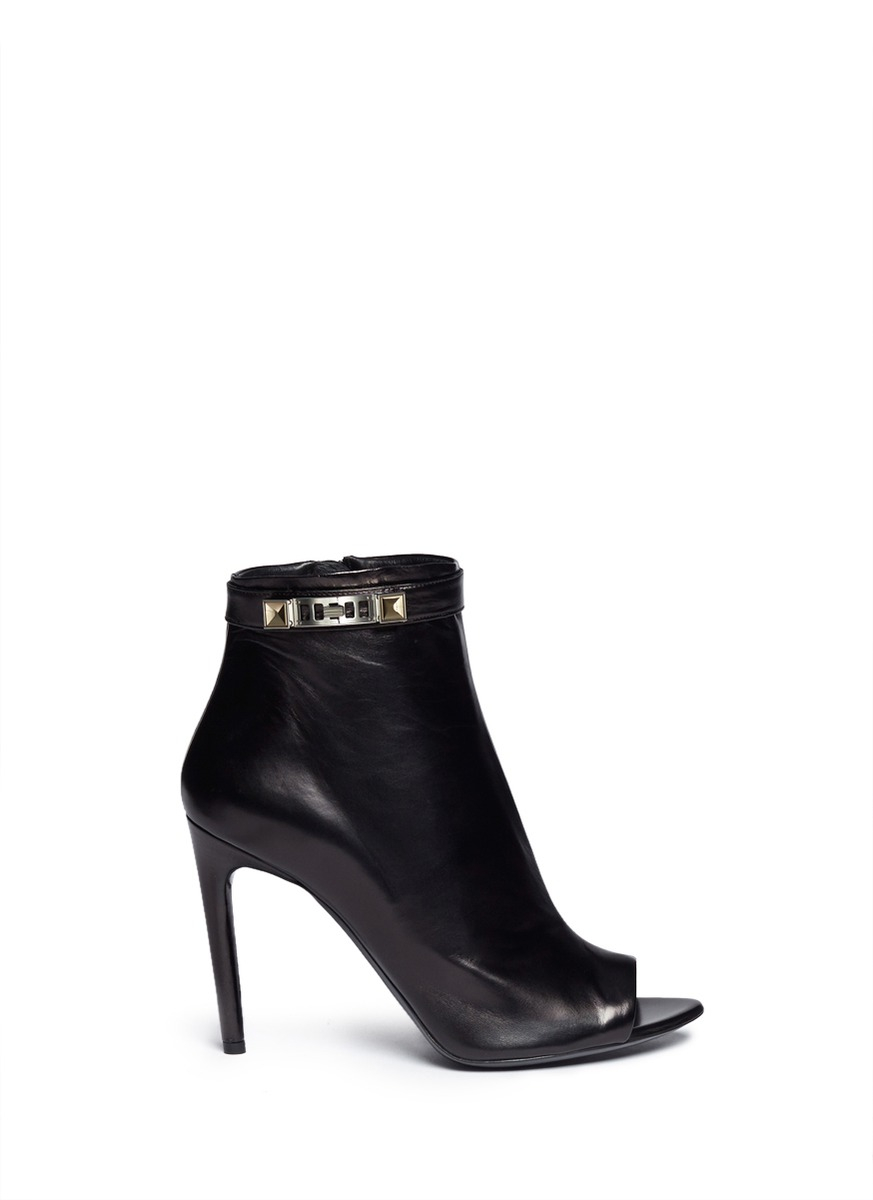 clearance with paypal Proenza Schouler Embossed Peep-Toe Ankle Booties perfect cheap price buy cheap amazing price PlCEOefbS7