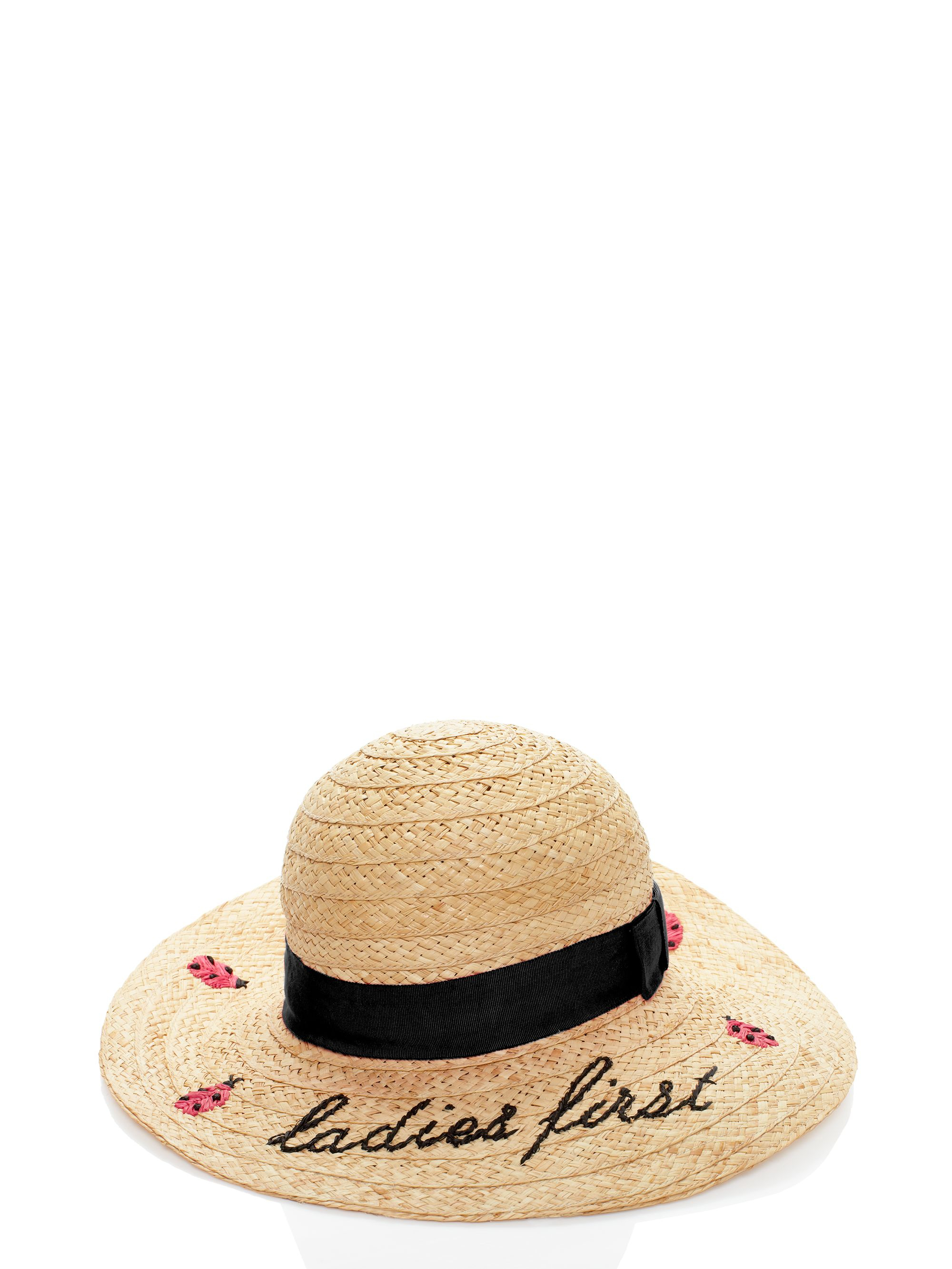 ac767c126be Lyst - Kate Spade Ladies First Straw Sun Hat in Natural