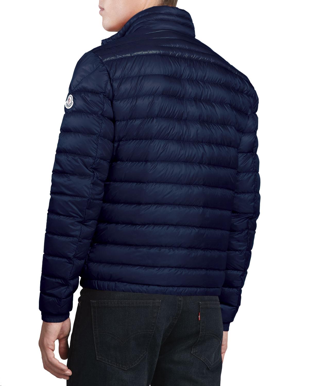 moncler navy coat color