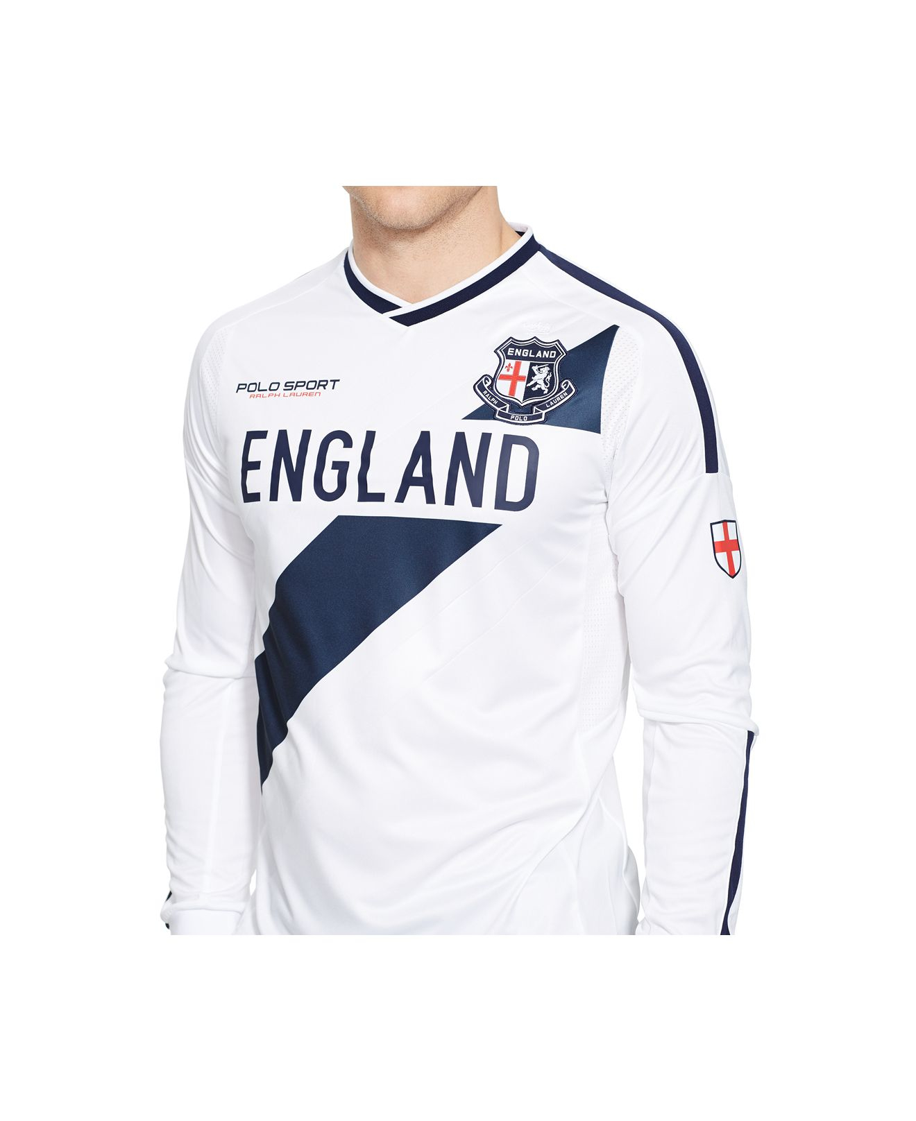 polo ralph lauren polo sport england jersey t shirt in. Black Bedroom Furniture Sets. Home Design Ideas