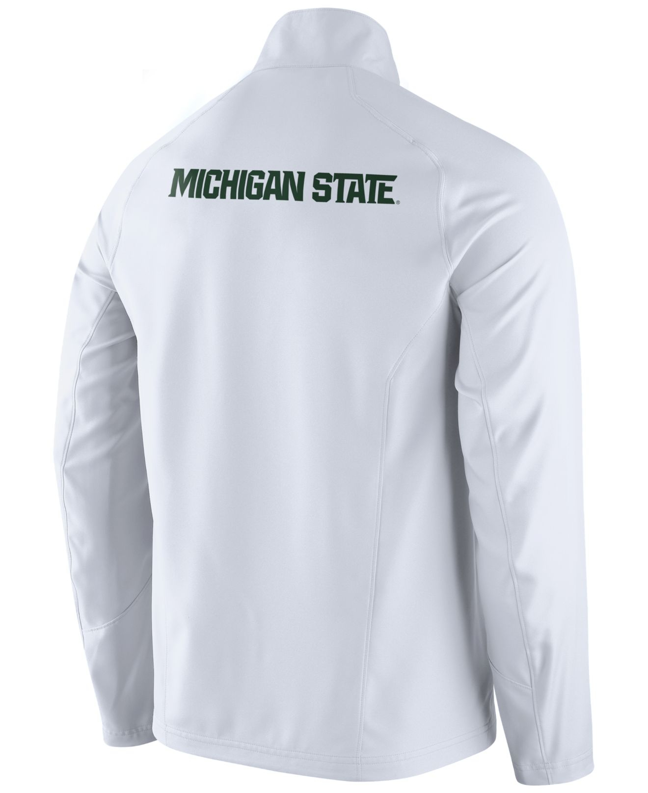 Lyst Nike Men S Michigan State Spartans Game Jacket In White For Men