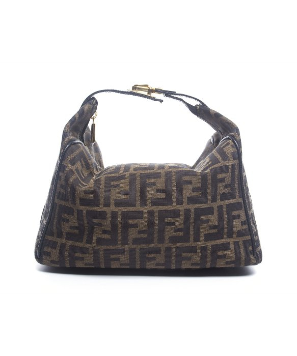 11d5d0c441 Fendi Zucca Large Cosmetic Pouch in Brown - Lyst