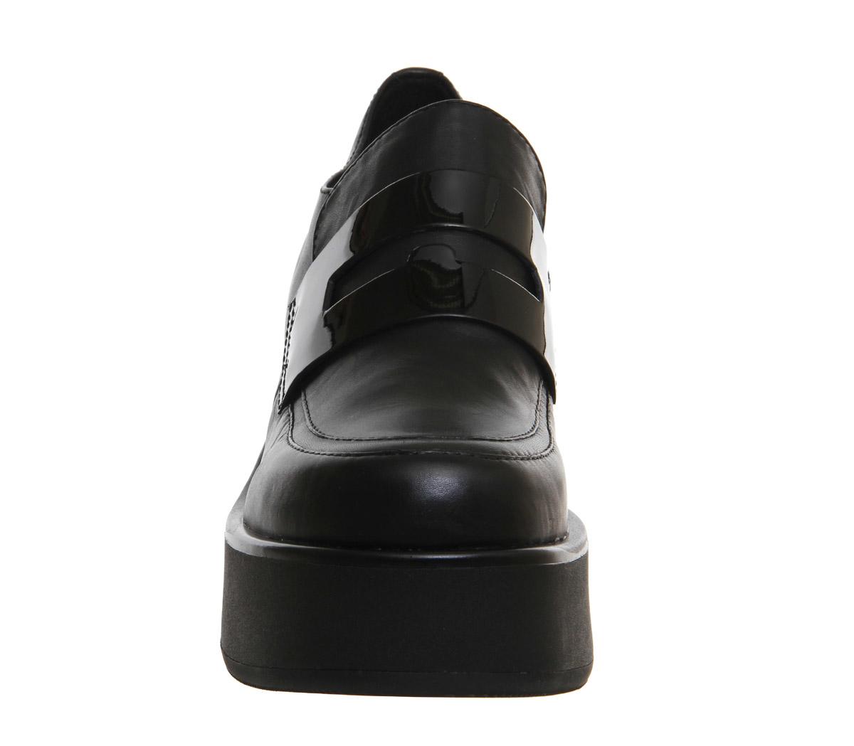 Vagabond Emma Loafers In Black
