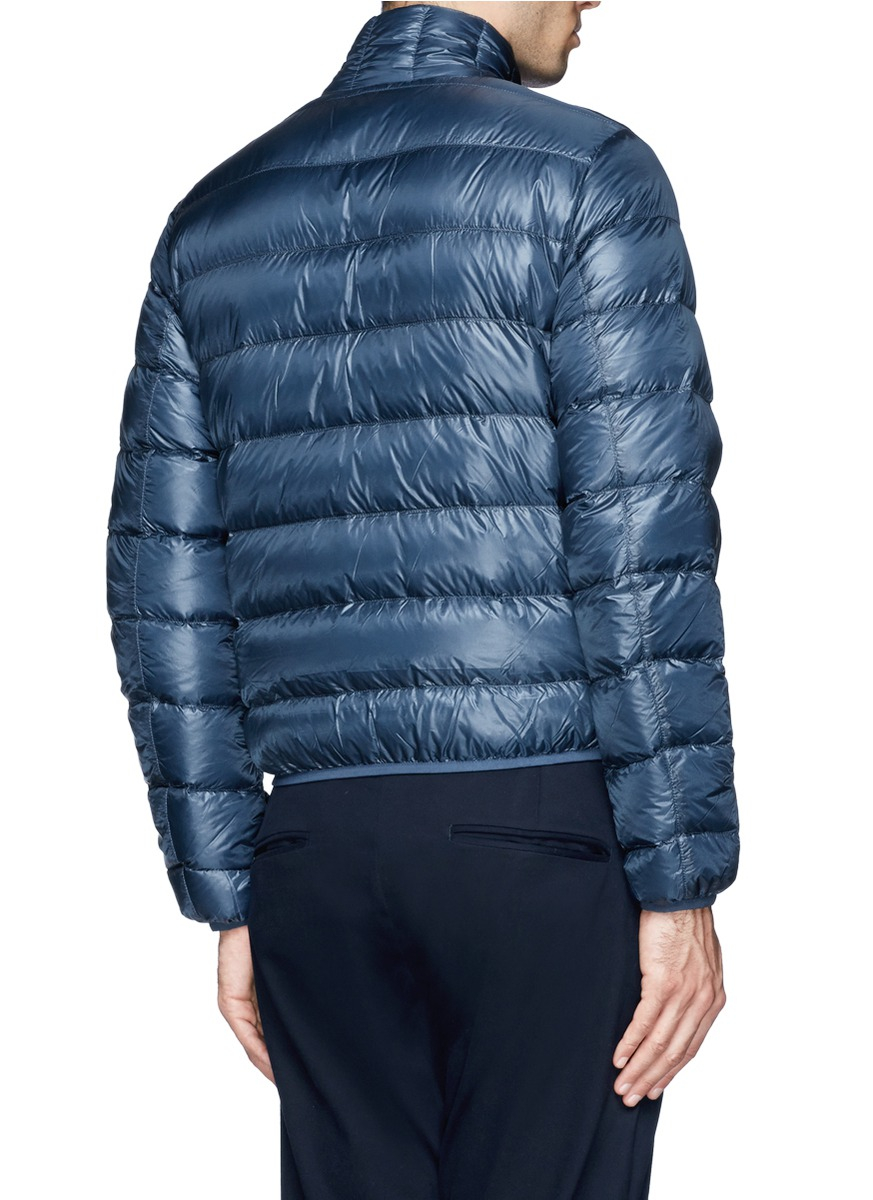 Aspesi 'pinolo' Super Lightweight Puffer Jacket in Blue for Men | Lyst