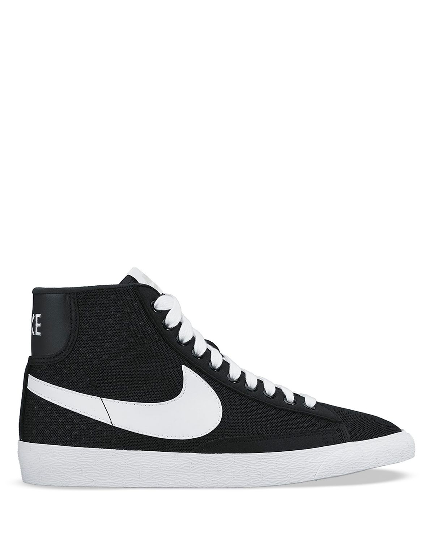 nike mesh high top sneakers